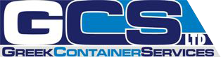 GCS GREEK CONTAINER SERVICES LOGO
